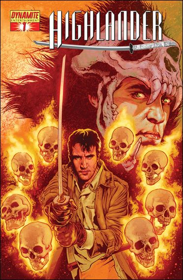 Highlander 1-C by Dynamite Entertainment