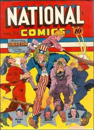 National Comics (1940) 2-A by Quality