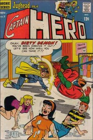 Jughead as Captain Hero 7-A