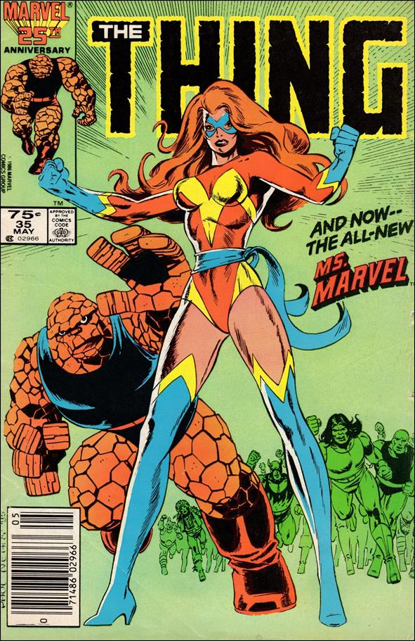 Thing (1983) 35-A by Marvel