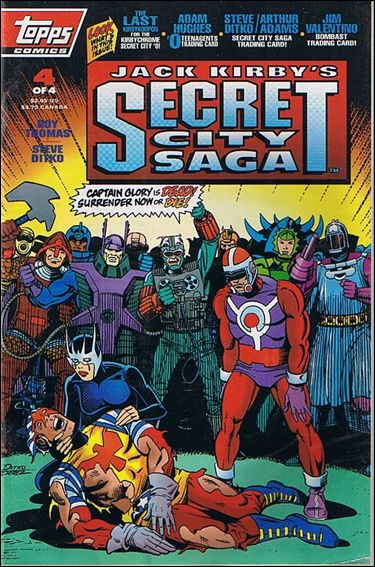 Jack Kirby's Secret City Saga 4-B by Topps