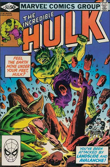 Incredible Hulk (1968) 263-A by Marvel
