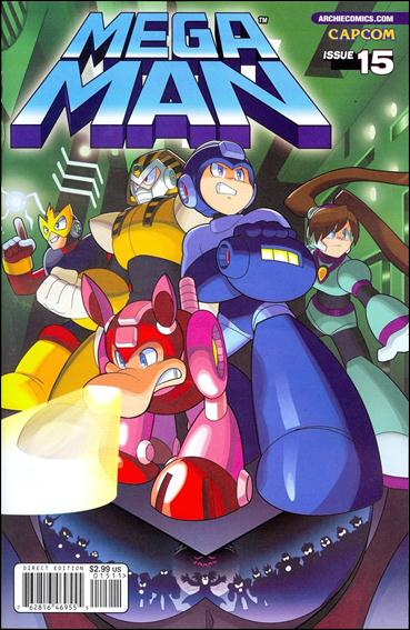 Mega Man 15-A by Archie