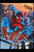 Fleer Ultra Spider-Man (Gold-Foil Signature Parallel Base Set) 1-A