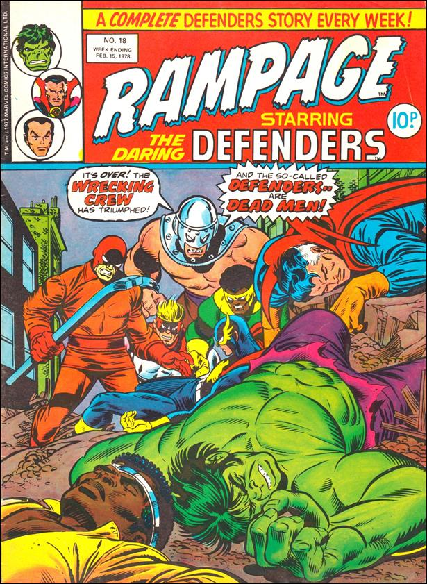 Rampage Weekly (UK) 18-A by Marvel UK