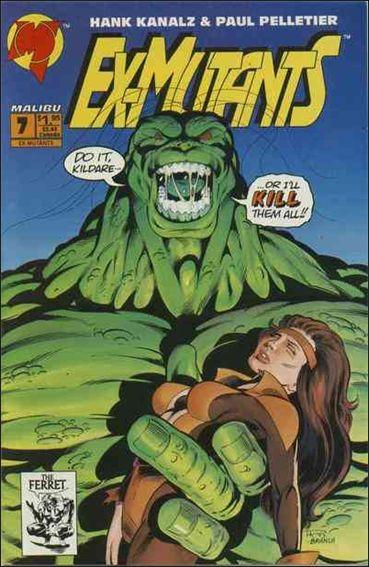 Ex-Mutants (1992) 7-A by Malibu