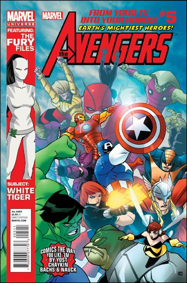 Avengers Earth's Mightiest Heroes (2012) 5-A by Marvel