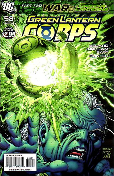 Green Lantern Corps (2006) 58-B by DC