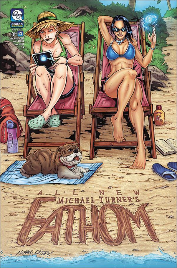 All New Michael Turner's Fathom 4-C by Aspen