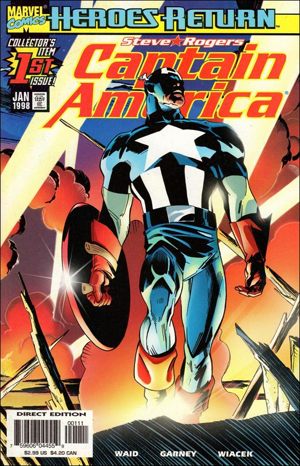 Captain America (1998) 1-A by Marvel