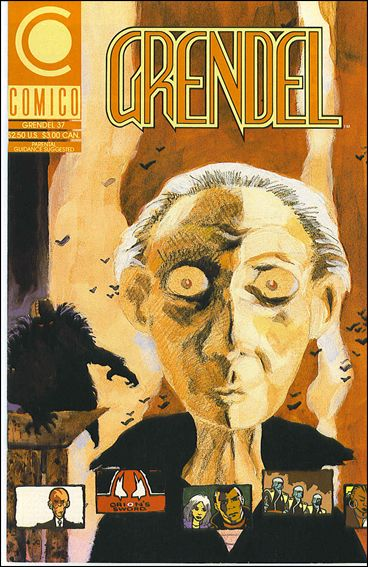 Grendel (1986) 37-A by Comico