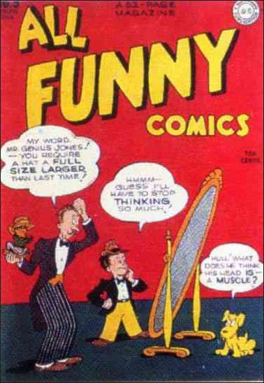 All Funny Comics 9-A by DC