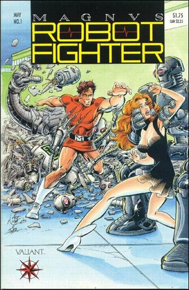Magnus Robot Fighter (1991) 1-A by Valiant