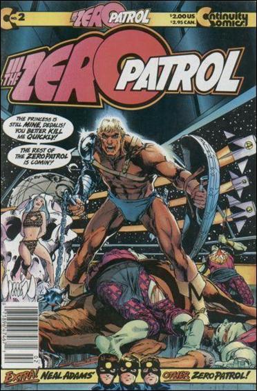 Zero Patrol (1987) 2-A by Continuity Comics