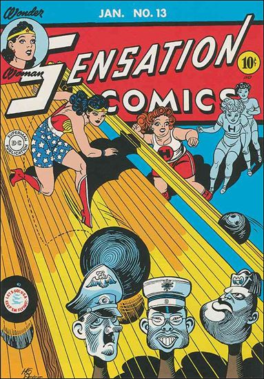 Sensation Comics (1942) 13-A by DC