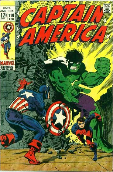 Captain America (1968) 110-A by Marvel