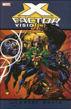 X-Factor Visionaries: Peter David 1-A