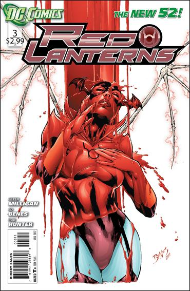 Red Lanterns 3-A by DC