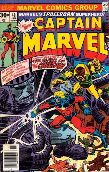 Captain Marvel (1968) 48-A by Marvel