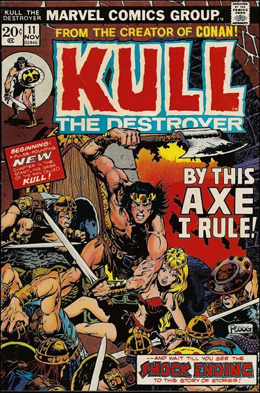 Kull the Destroyer 11-A by Marvel