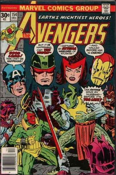 Avengers (1963) 154-A by Marvel