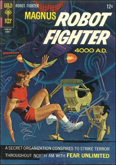 Magnus, Robot Fighter (1963) 19-A by Gold Key