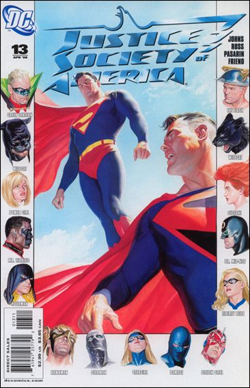 Justice Society of America (2007) 13-A by DC