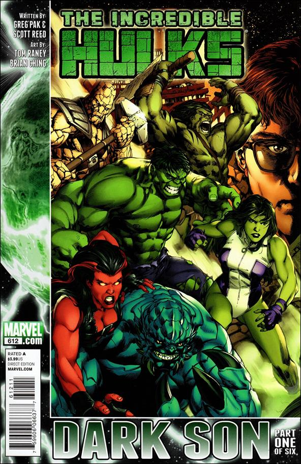 Incredible Hulks 612-A by Marvel