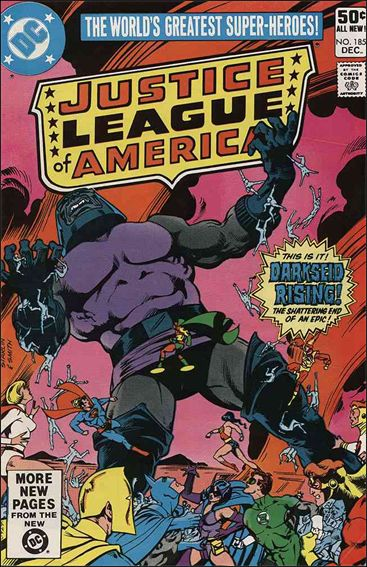 Justice League of America (1960) 185-A by DC
