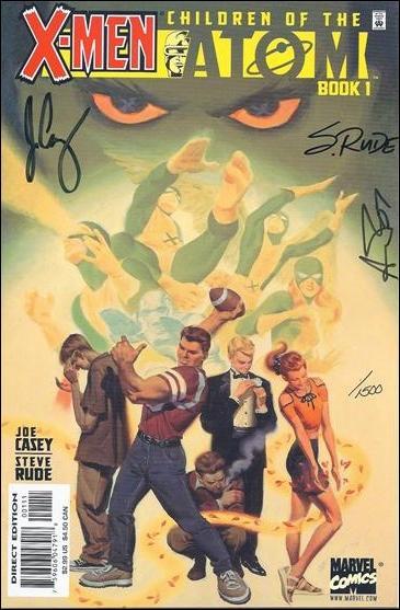 X-Men: Children of the Atom (1999) 1-B by Marvel