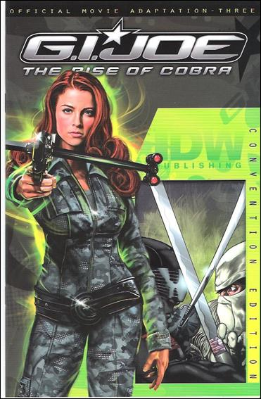 G.I. Joe: Rise Of Cobra Movie Adaptation  3-C by IDW