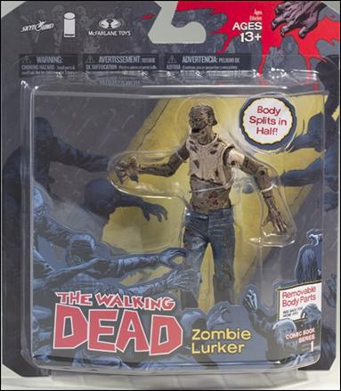 Walking Dead (Comic Book Series 1) Zombie Lurker by McFarlane Toys