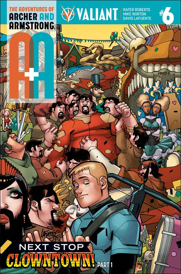 A&A: The Adventures of Archer & Armstrong 6-A by Valiant Entertainment