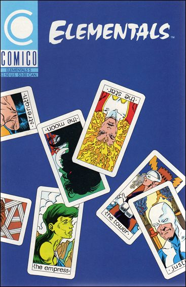 Elementals (1989) 5-A by Comico