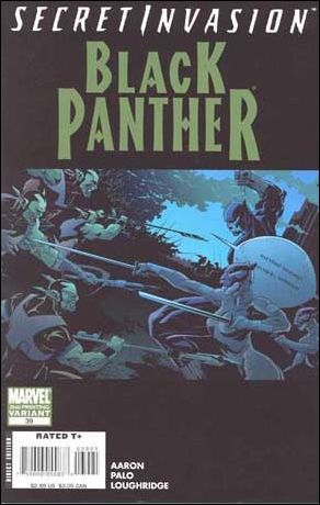 Black Panther (2005) 39-B by Marvel