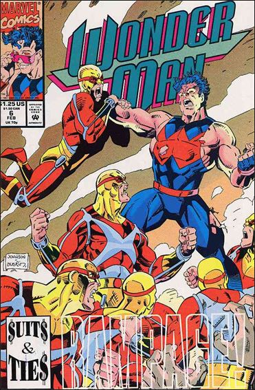 Wonder Man (1991) 6-A by Marvel