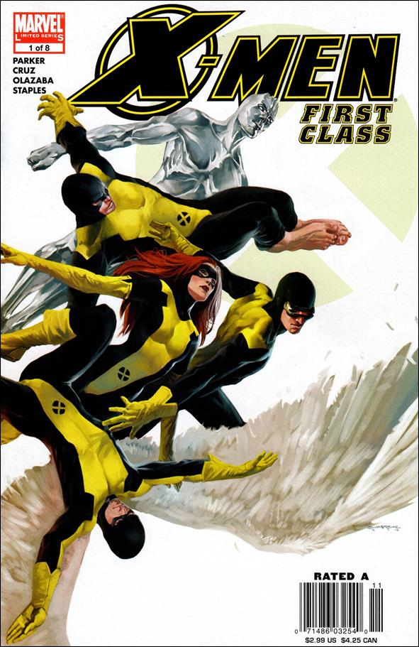X-Men: First Class (2006) 1-A by Marvel