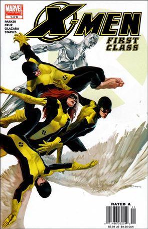 X-Men: First Class (2006) 1-A