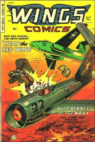 Wings Comics (1940) 117-A by Fiction House Magazines