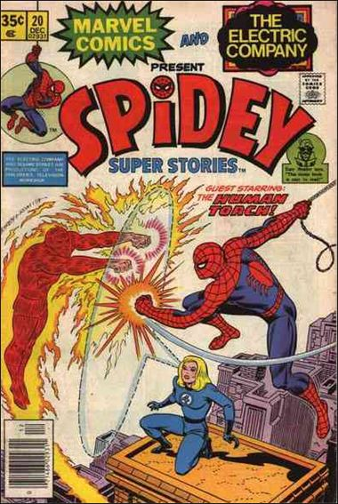 Spidey Super Stories 20-A by Marvel