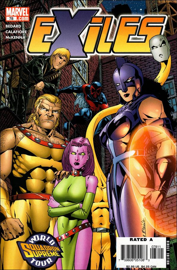 Exiles (2001) 78-A by Marvel