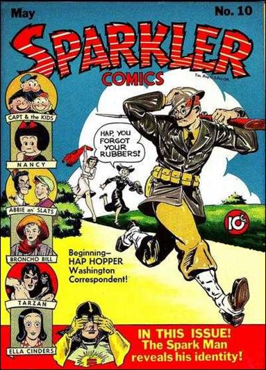Sparkler Comics (1941) 10-A by United Features Syndicate