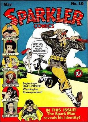 Sparkler Comics (1941) 10-A