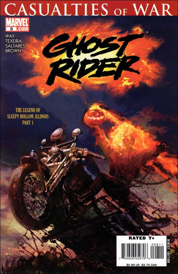 Ghost Rider (2006) 8-A by Marvel