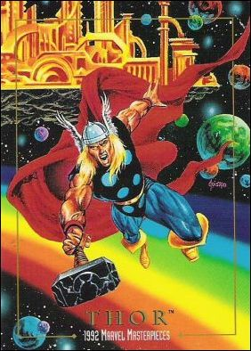 1992 Marvel Masterpieces (Base Set) 92-A by SkyBox