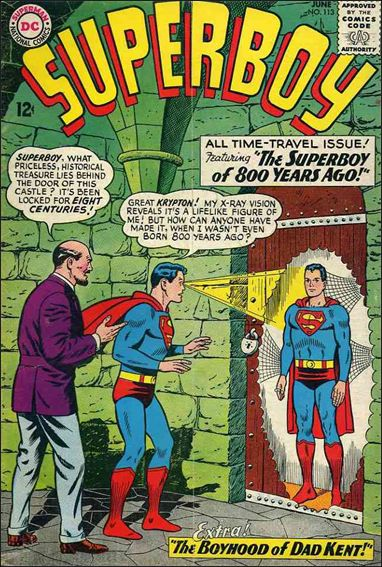 Superboy (1949) 113-A by DC