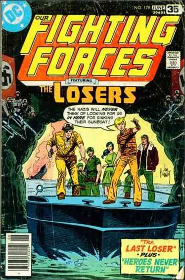 Our Fighting Forces (1954) 179-A by DC