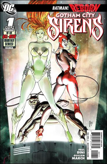 Gotham City Sirens 1-A by DC