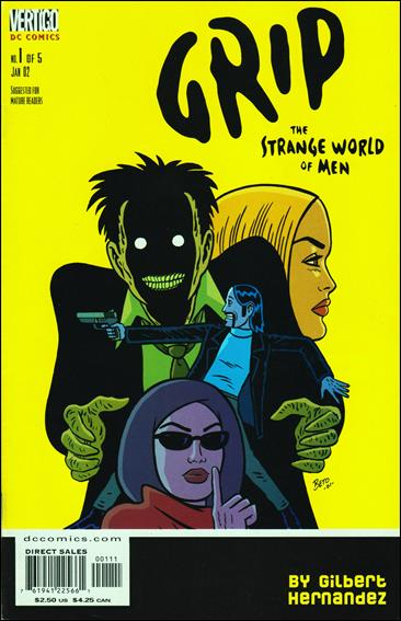 Grip: The Strange World of Men 1-A by Vertigo