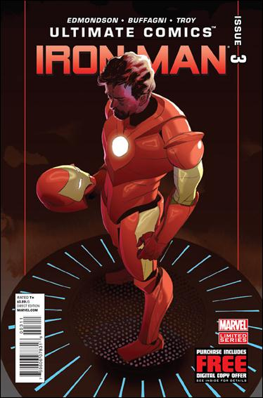 Ultimate Comics Iron Man 3-A by Marvel